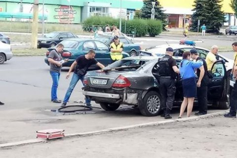 Local businessman blown up in Cherkasy