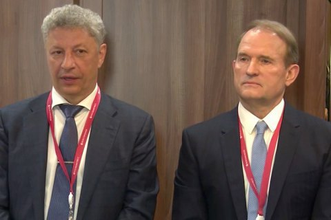 Security service launches probe into Moscow visit by Boyko, Medvedchuk