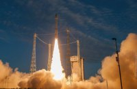 Vega rocket launches Aeolus satellite