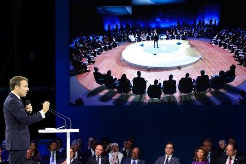 Paris Peace Forum to raise $500m for anti-coronavirus efforts