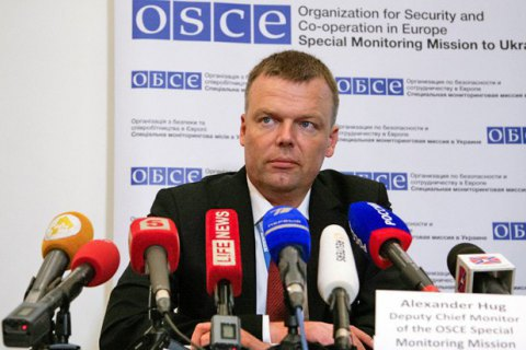 Hug: peacekeepers must not replace Minsk agreements