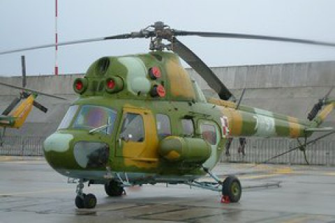 Military helicopter makes emergency landing in Chuhuyev