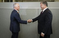 Ukrainian president, Australian PM coordinate efforts on MH17