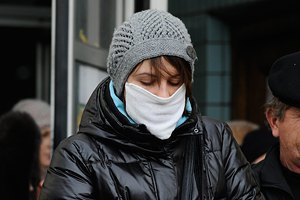 Third Ukrainian region registers flu epidemic