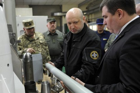 Ukraine needs to set up munitions production - security supremo