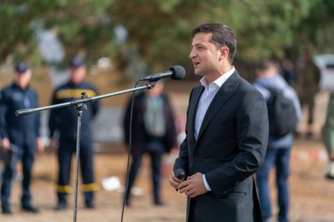 Zelenskyy not to publish transcript of conversation with Trump