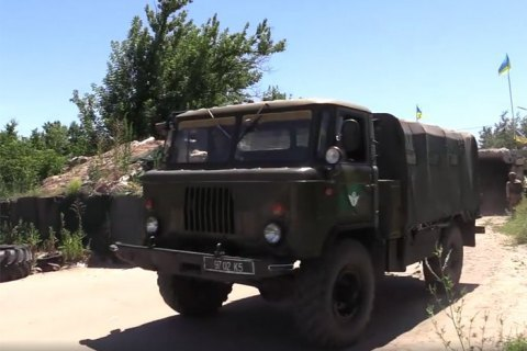 Disengagement of forces near Stanytsya Luhanska begins
