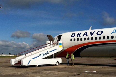 First flight takes off from Rivne airport in 10 years