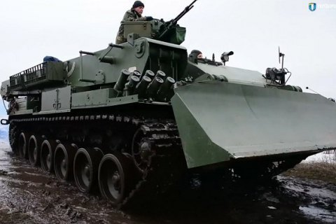 Ukraine launches serial production of Atlet armoured vehicles