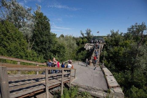 Ukraine to start building bridge in Stanytsya Luhanska in days – president