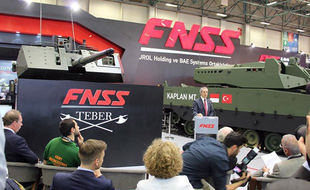 IDEF 2017 arms show in Istanbul
