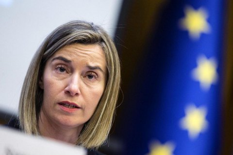 Mogherini urges Russia to release Ukrainian sailors unconditionally