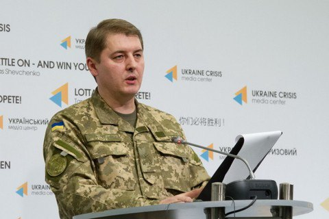 One Ukrainian serviceman killed, six wounded in east