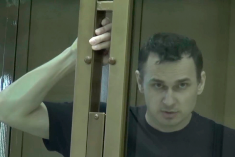 "Sentsov taken to hospital for ""scheduled check"""