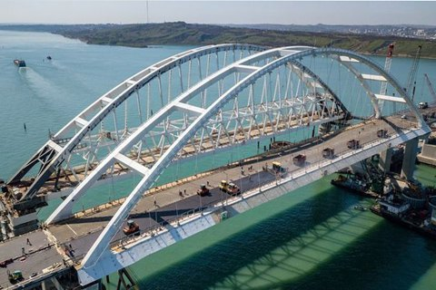 President welcomes EU sanctions over Russia's Kerch Bridge project