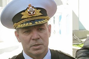Ukrainian Navy commander dismissed