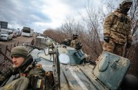 Pro-Russian militants use heavy artillery in Donbas