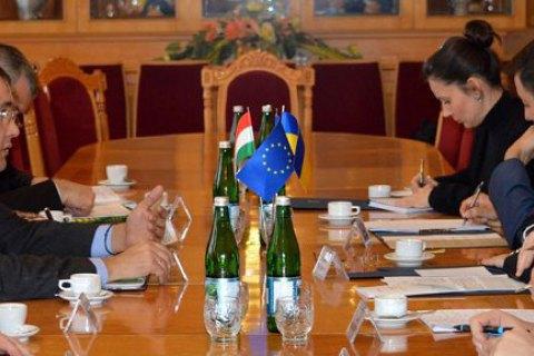 "Ukraine ""cautiously optimistic"" about language talks with Hungary"