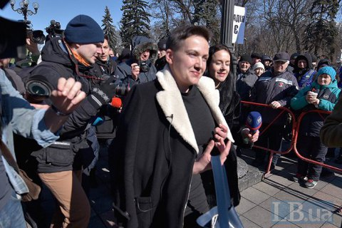 MP Savchenko detained in parliament