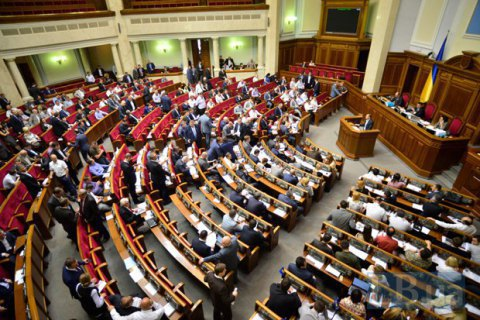 Ukrainian coalition falls apart de jure