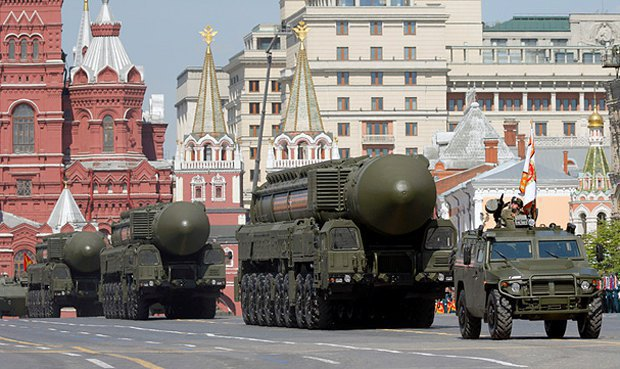 The military parade in Moscow on 9 May 2016