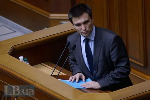 Klimkin: elections in Donbass a distant prospective