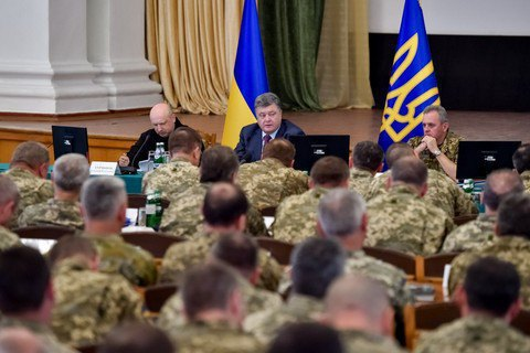 Poroshenko says Ukrainians should be prepared for guerrilla warfare