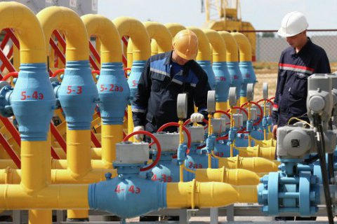 Ukraine starts lifting gas from storage