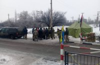 "Trade blockade HQ says police storm ""redoubt"" in Kryvyy Torets"