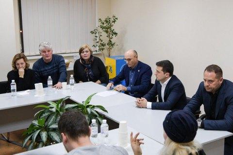 Zelenskyy meets families bereaved by Iran air crash