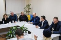 Zelenskyy meets families bereaved by Iran air crash