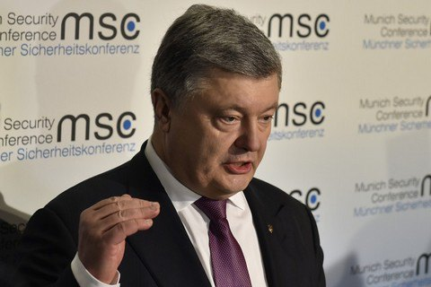 Ukrainian president condemns Russia's recognition of separatist passports
