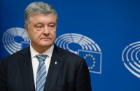 Poroshenko says Pryamyy TV subjected to raider attempts