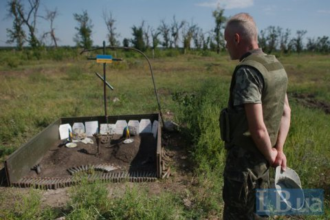 Two Ukrainian servicemen killed in Donbas