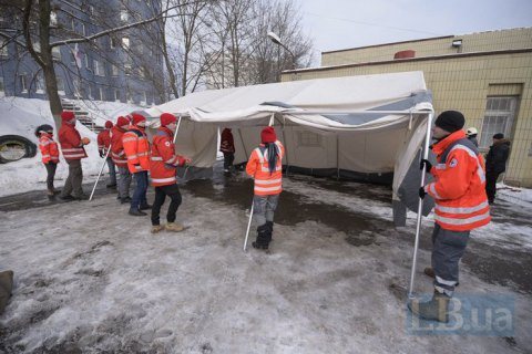 Kyiv rescuers hold cyber disruption response drill