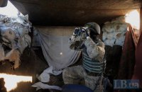 Ukrainian soldier wounded in Donbas