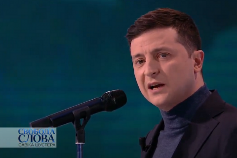 "Zelenskyy fears ""scary"" coronavirus statistics after Easter"