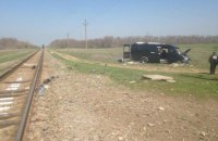 At least five killed in bus and train collision in Crimea