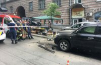 Man wounded in car explosion in central Kyiv