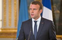 Aggressor in Donbas is Russia and we all know it, says Macron