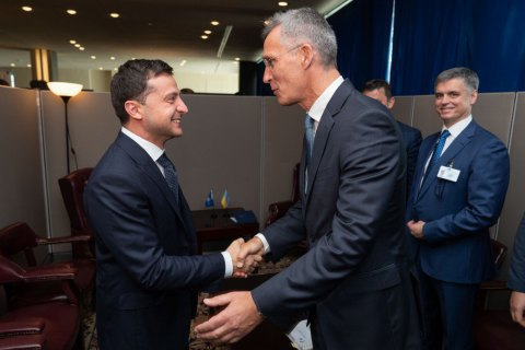 Zelenskyy confirms Ukraine's plans to work with NATO