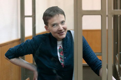 Savchenko threatens dry hunger strike as of 6 April