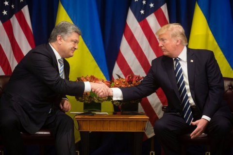 Poroshenko: USA supports Ukraine's proposal for peacekeepers