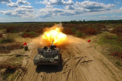 New version of T-72 tanks undergoes live fire testing