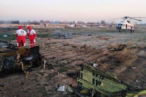 Eleven Ukrainians said killed in Iran air crash