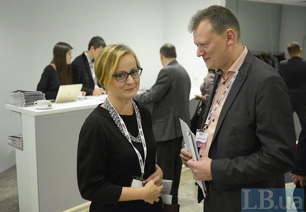 Olha Shaternyk and Dmytro Ostorushko