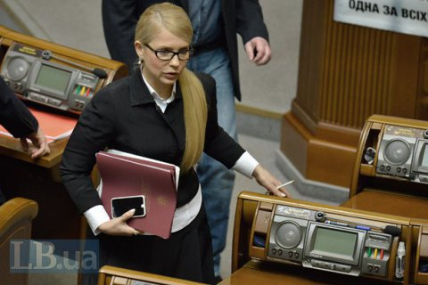 Tymoshenko in USA for National Prayer Breakfast
