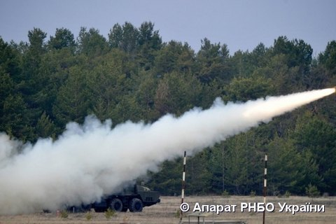 Ukraine tests locally made missile