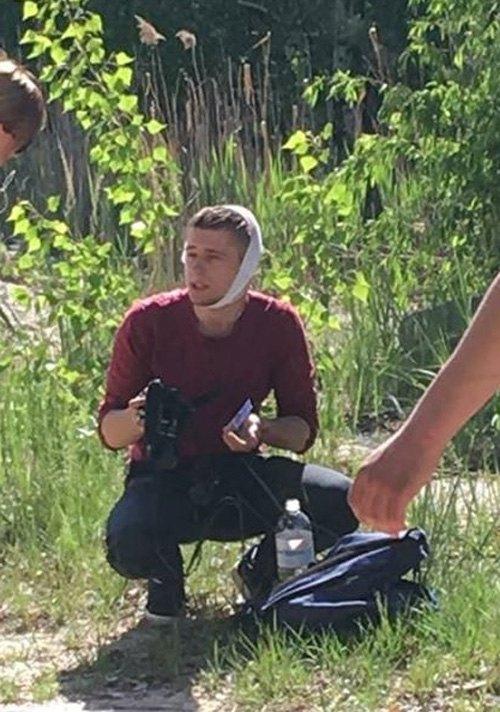 Gazeta.ua's injured journalist
