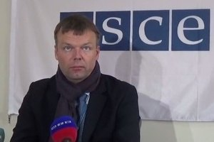 "OSCE mission denies ""gray areas"" in Donbas"